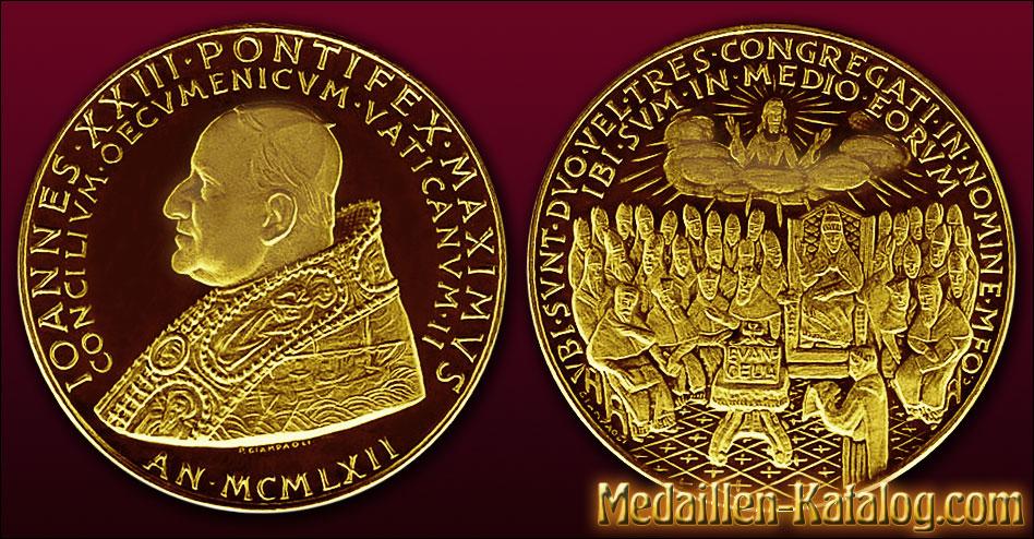 Iohannes Xxiii Pontifex Maximus Concilium Oecumenicum Vaticanum Ii