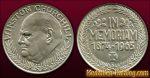 Winston Churchill | In Memoriam 1874-1965 | Gold & Silber Medaille Münze Gedenkmedaille Gedenkmünze