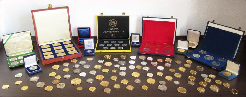 Medaillen und Gedenkmuenzen Katalog